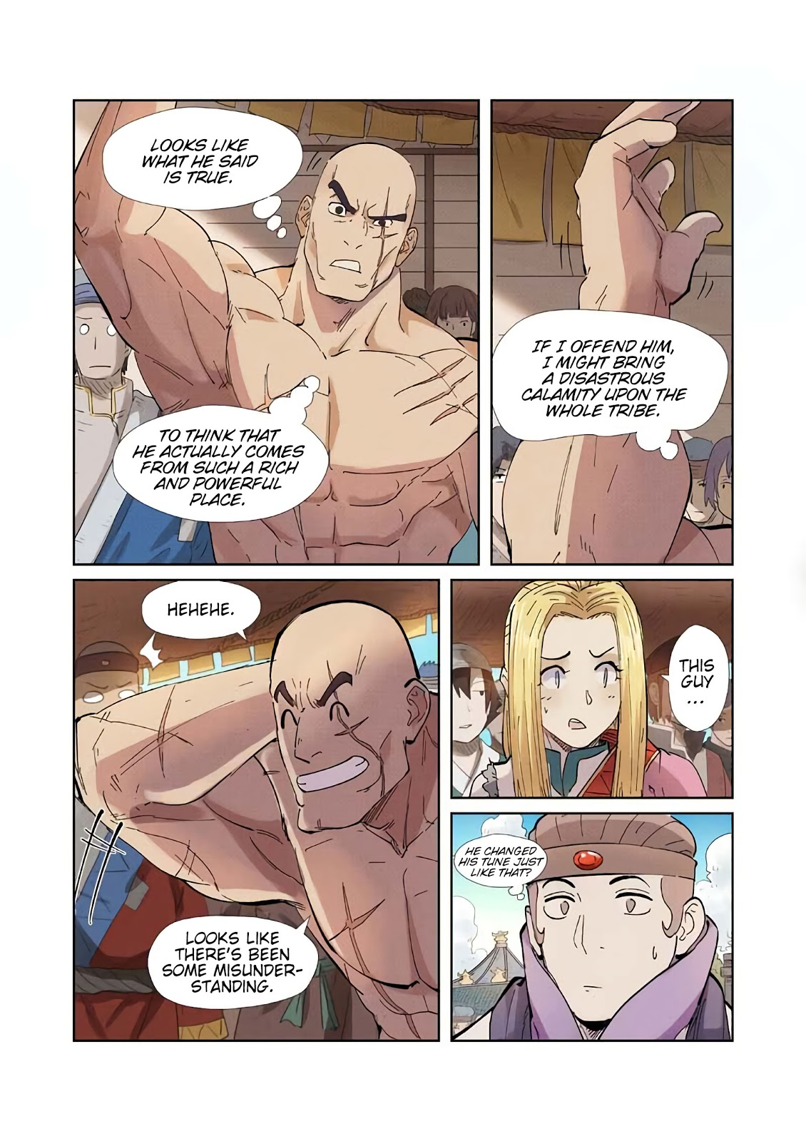 Tales of Demons and Gods chapter 217-5 english