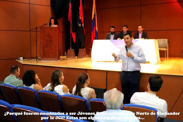 JCI exalta actividades realizadas por los jóvenes sobresalientes de Norte de Santander #RSY #OngCF