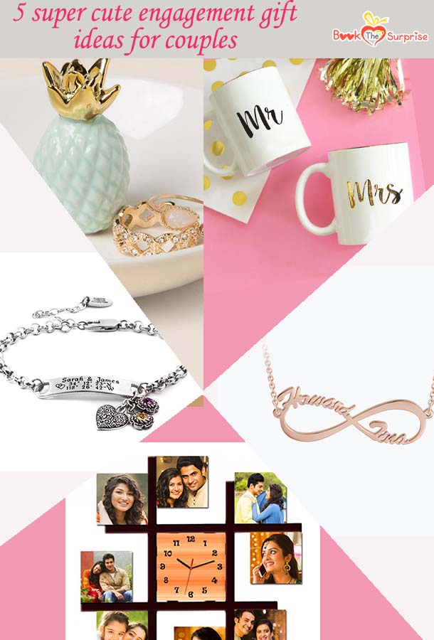 cute engagement gift ideas