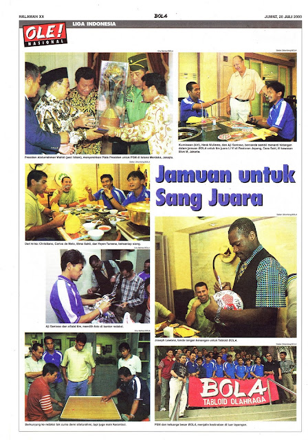 LIGA INDONESIA: JAMUAN UNTUK SANG JUARA