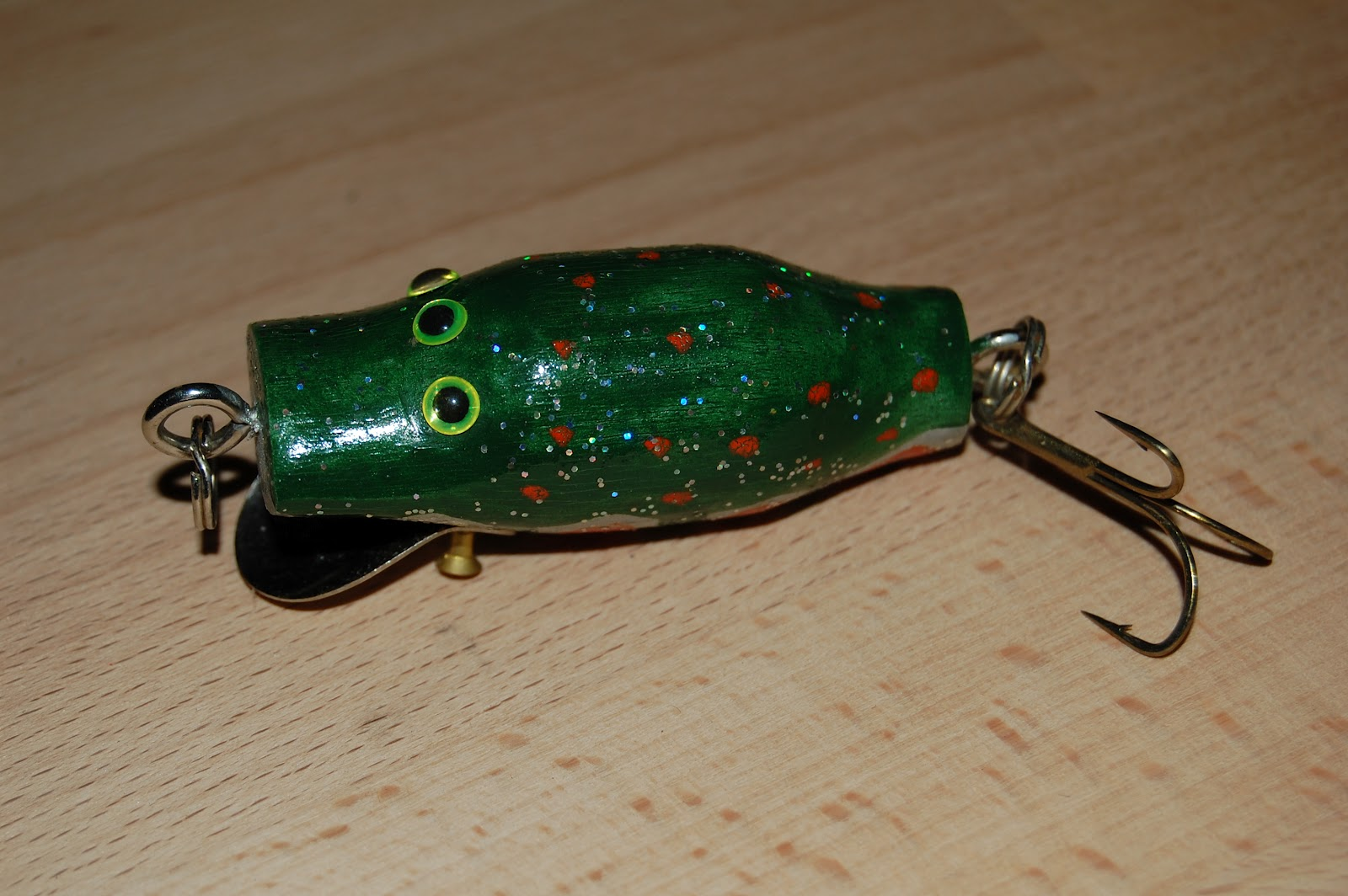 Acts Of Random Whittling Whittled Fishing Lures