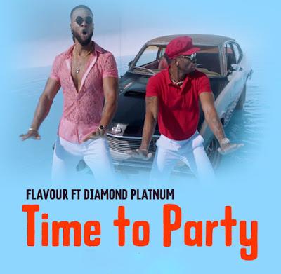 AUDIO | Mr Flavour Ft Diamond Platnumz – Time to Party