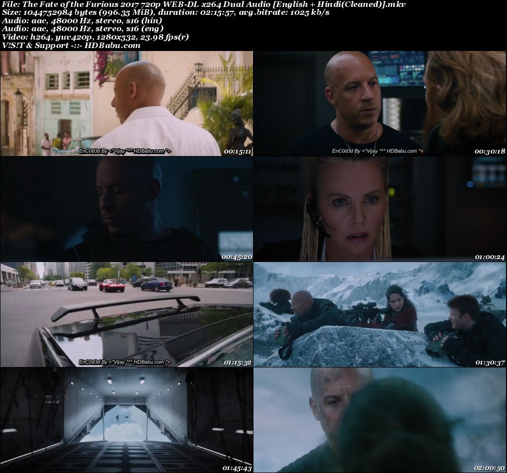 download full hd movie fast and furious 8 dual audio 720p