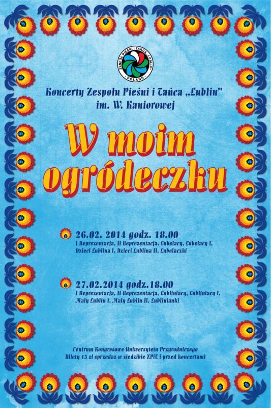 koncerty, Centrum Kongresowe Uniwersytetu Przyrodniczego lublin, folklor, taniec ludowy, koncert
