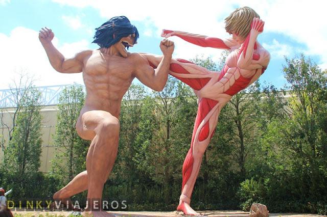 Universal Studios Japan. Ataque a los Titanes