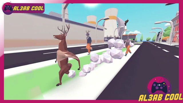 لعبة محاكي الغزال DEEEER Simulator