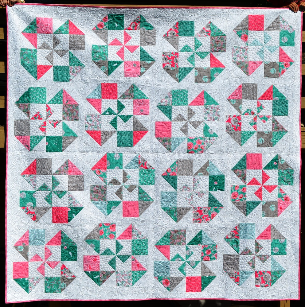 Happy Quilting: Playful Posies - A New Finish and Pattern!! : happy quilt - Adamdwight.com