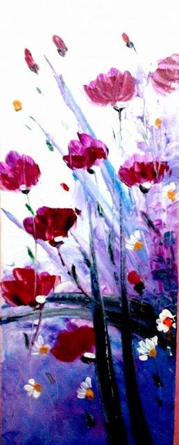 80+ Gambar Bunga Abstrak Paling Keren