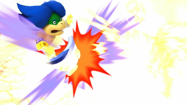 Ludwig Von Koopa explosion blow up bob-omb Super Smash Bros.