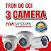 Trọn Bộ 3 Camera Giá Rẻ - Bảo hành 24 tháng