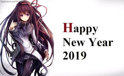 Happy New Year 2019 Anime Wallpapers