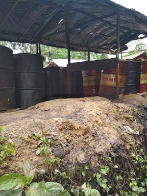 Minyak Mentah Ilegal Melenggang di Muratara