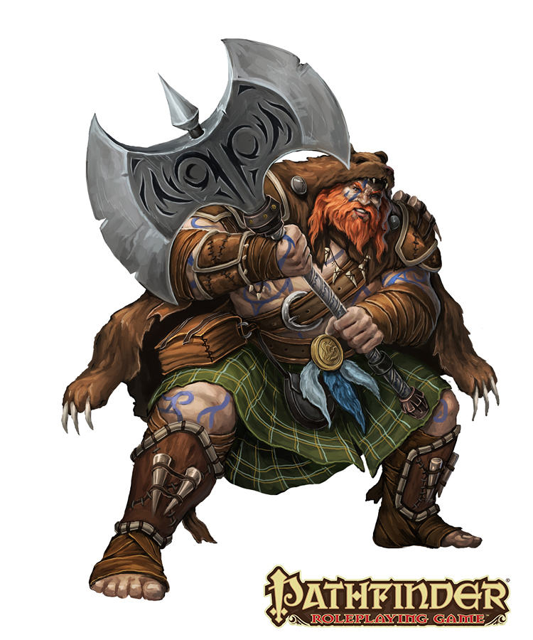 The Daily Bestiary: Firbolg
