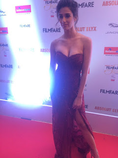 Disha Patani in Fali and Shane Pea outfit at Absolut Elyx Filmfare Glamour and Style awards