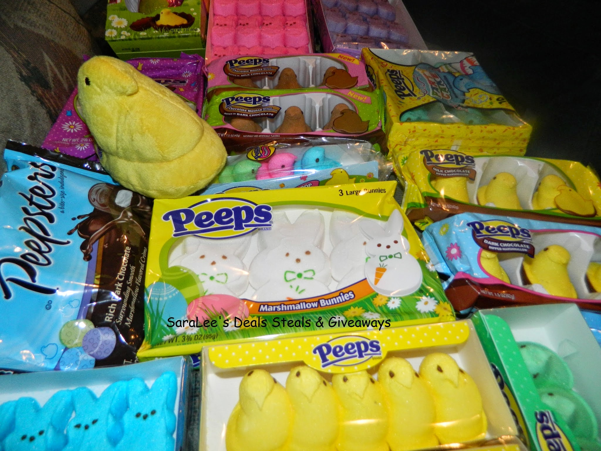 Enter the Easter Peeps & Ring Pops Giveaway. Ends 4/19.