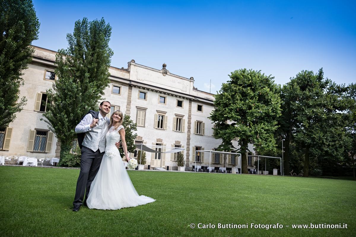 Fotografo Sposi Villa Giavazzi
