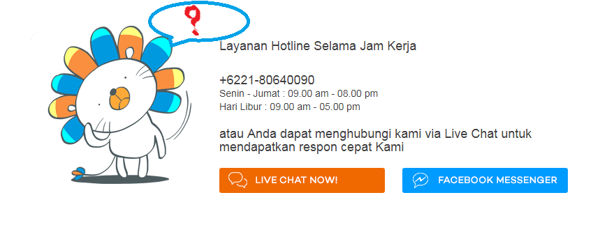 Cara Menghubungi CS Lazada Bebas Pulsa, Live Chat Baru