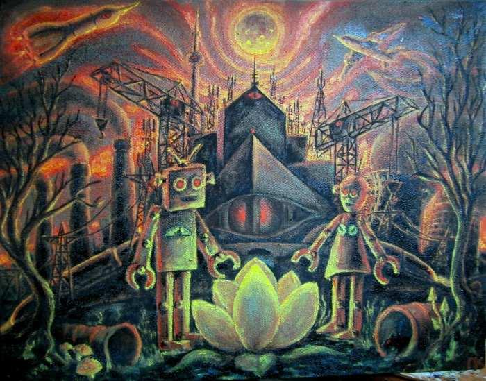 Монументальная живопись. Павел Кандыба