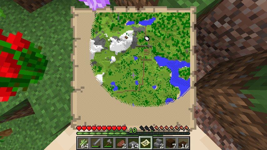Mini Tutorial Minecraft Mapa