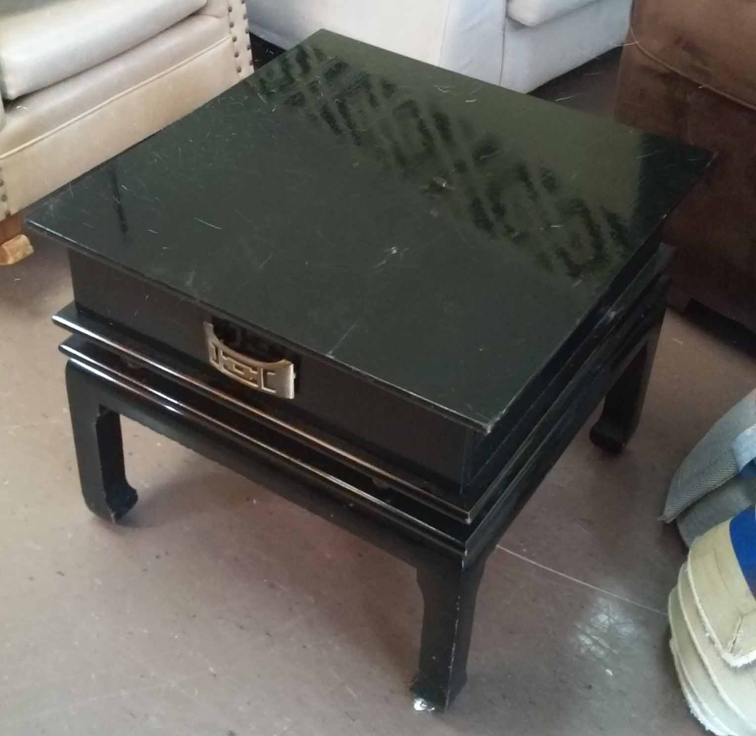 50 Square Coffee Table Uhuru Furniture And Collectibles Sold Square Black Lacquer