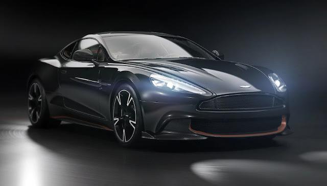 Aston Martin прощается с VANQUISH ULTIMATE EDITION