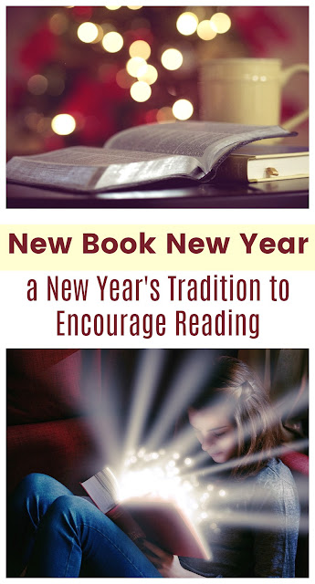 New Book New Year's: a Tradition to Encourage Reading