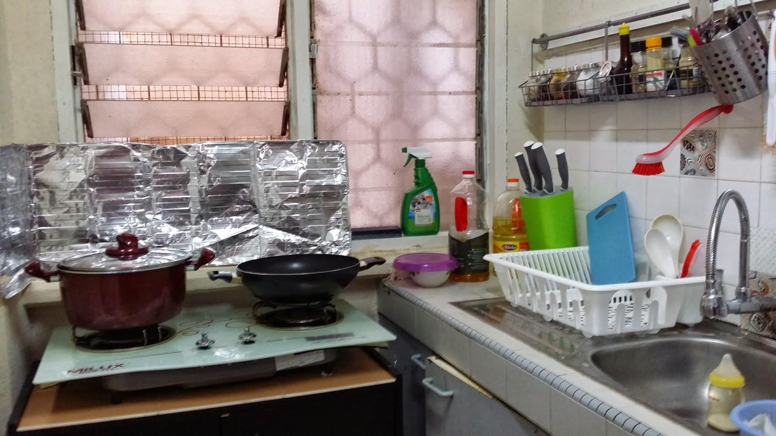Susun Atur Dapur Yang Kemas Desainrumahid
