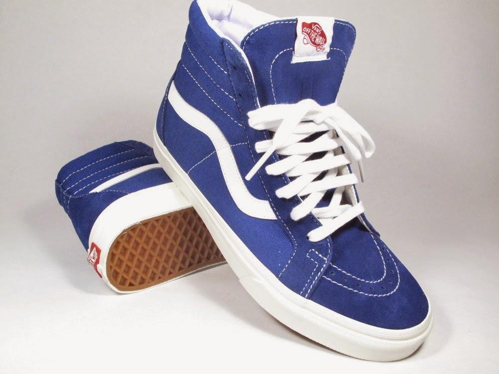 d42ed9e592 Vans Sk8-Hi Reissue Vintage True Blue