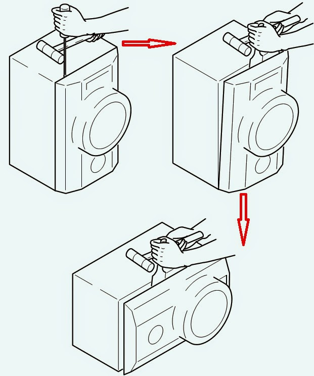 Schematic Diagram: HOW TO OPEN SPEAKER BOX AIWA XH A1060
