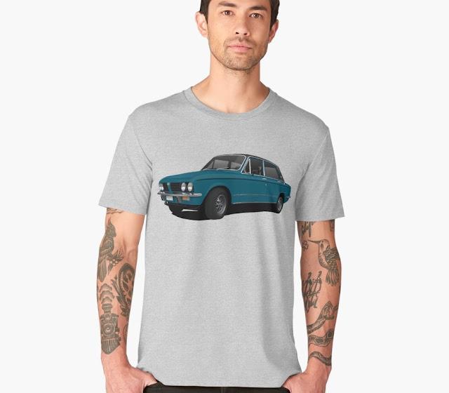 Triumph Dolomite Sprint vintage t-shirt