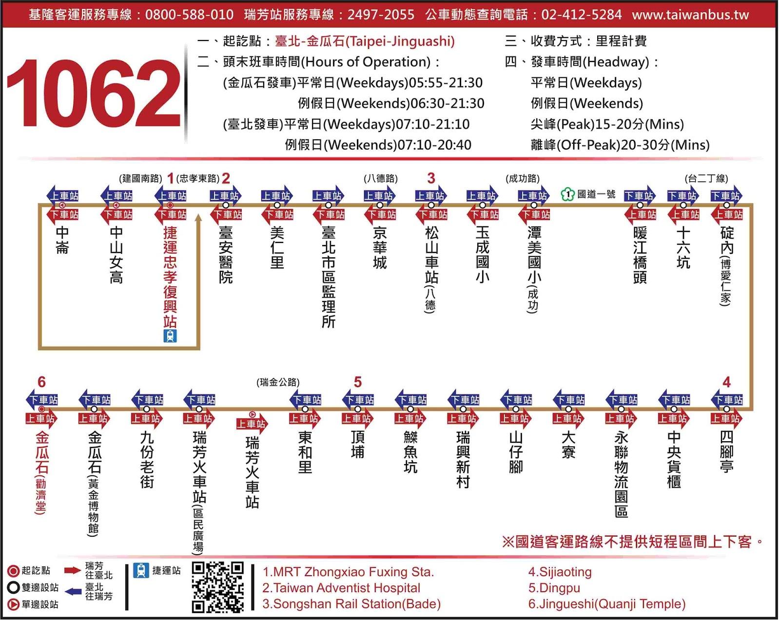 Bus Route 1062