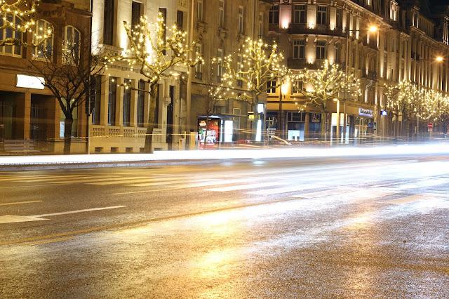 lussemburgo di notte
