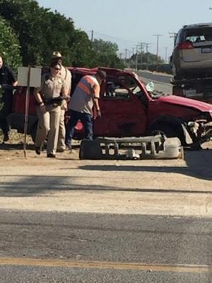tulare county car crash road 132 avenue 352 jose gutierrez cutler man child hurt