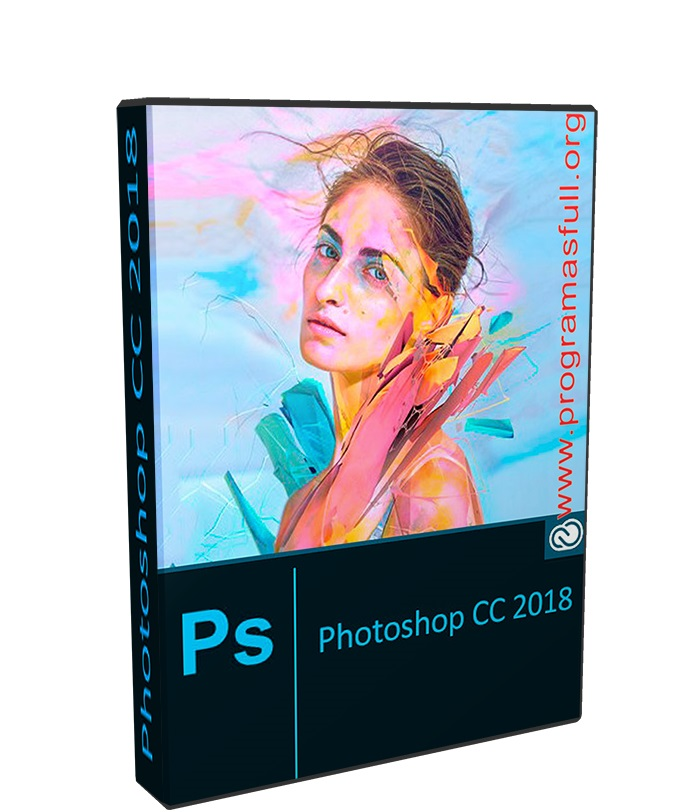 Adobe Photoshop CC 2018 19.1.2.45971 poster box cover