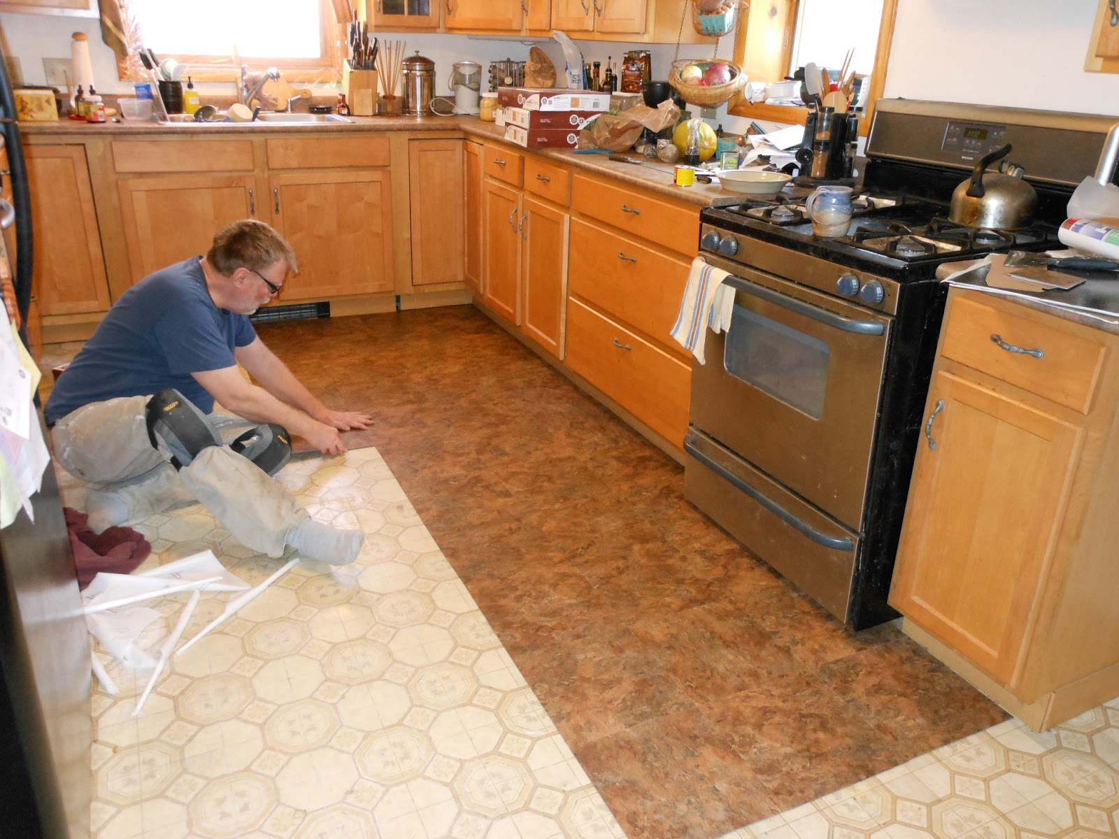 Home Depot Kitchen Flooring Stoves Electric Writing The Witchy Way New Floor Saga