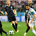 HALFTIME Score: Argentina 0-0 Croatia It's goalless