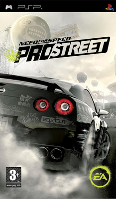 Need for speed: prostreet (2008) psp box cover art mobygames.