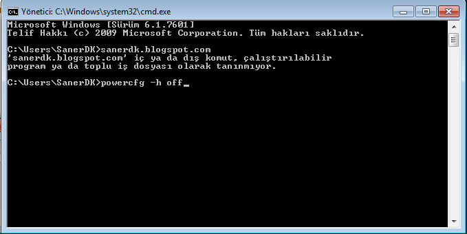 how to delete hiberfil sys windows 7