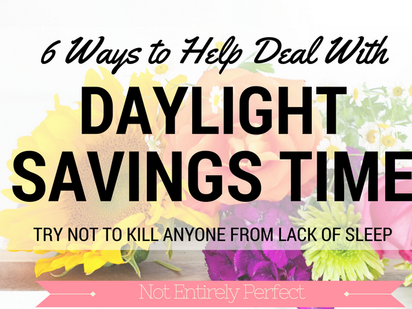 How To Deal With Daylight Savings Time