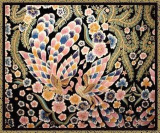 Motif Batik Bali Merak Abyorhokokai