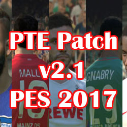 Download PTE Patch 2017 Update 2.1 For Pc
