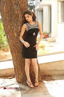 Actress Poojitha Pallavi Naidu Stills in Black Short Dress at Inkenti Nuvve Cheppu Movie Platinum Disc Function  0262.JPG