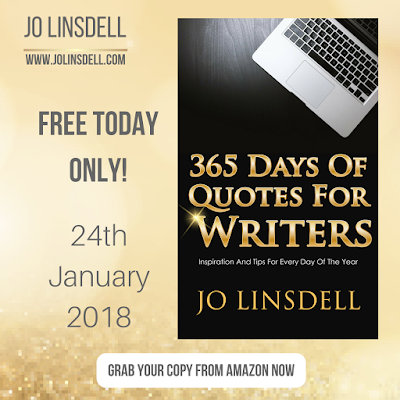 FREE Today Only! 365 Days Of Quotes For Writers