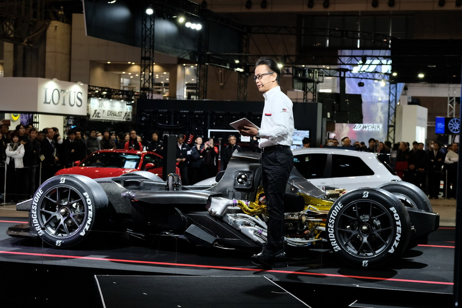 Toyota presents the GR Super Sport concept at Tokyo Auto Salon 2018