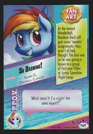 MLP So Dashing! Series 4 Trading Card