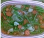 Foto Sop Tomat Vegetarian Enak Praktis