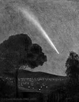 Penampakan Komet atau Lintang Kemukus