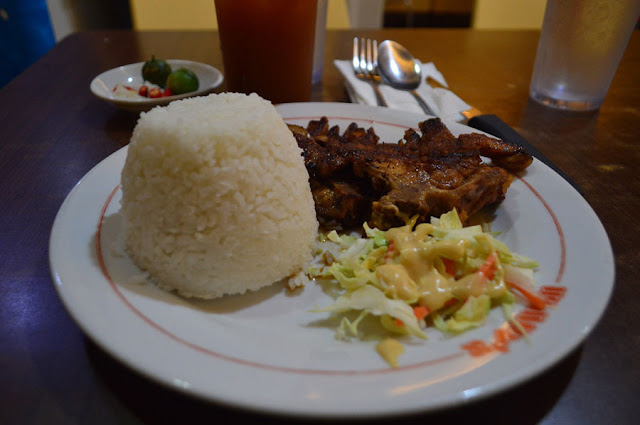 Wimpy's Subic Pork Chop Dinner