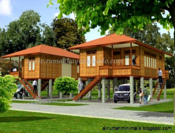 Rumah Panggung Minimalis Design Rumah Minimalis