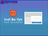 11 Cara Membuat Scroll Box Keren Di Postingan Blogger